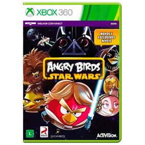 Jogo Novo Lacrado Angry Birds Star Wars Para Xbox 360 Ntsc