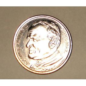 Medalha Comemorativa Visita Papa João Paulo 2o Brasil 1980