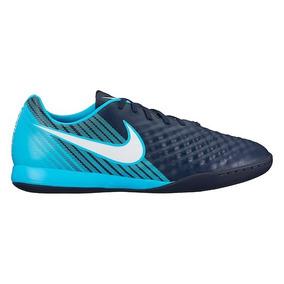 4020e7e3773 Chuteira Futsal Nike Agua Azul Shox Adultos Campo - Chuteiras no ...