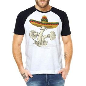3e6d0c5ccfa83 Chapeu Mexicano Sombreiro Camisetas Masculino - Camisetas e Blusas ...