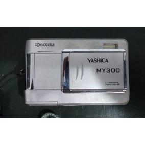 Câmera Digital Yashica My300 Retirada De Peças