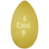 Skimboard Madeira E Eva 76cm Amarelo - Bel Lazer - Belfix
