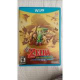 Juego The Legend Of Zelda The Windwaker Hd Para Wii U