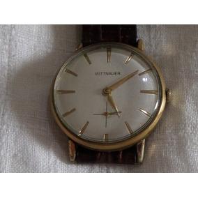Reloj Wittnaeur Vintage Segundero A Las Seis De Colección