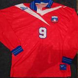Camiseta Chile Reebok Francia 98 - Camisetas de Fútbol en Mercado ... d1ef9ac9e58ee