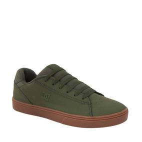 Tenis Casual Dc Shoes Notch 6gnm Verde Olivo 100% Originales