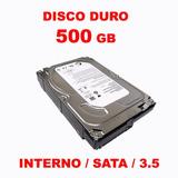 Disco Duro 500 Gb Seagate New Pull - St3500414cs