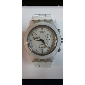 41270ff7d33 Relógio Swatch Irony Branco - Relógios no Mercado Livre Brasil