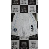 8a9e290824 Calção Grêmio Umbro Branco Jogador 18 19 N°5 - Pronta Ent.
