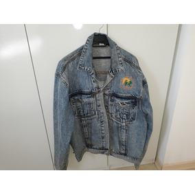 Jaqueta Jeans 90 Programa Sbt Passa Rapassa Silvio Santos 3ef052f3abbc2