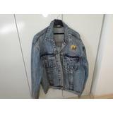 Jaqueta Jeans 90 Programa Sbt Passa Rapassa Silvio Santos 26d9ae2732381