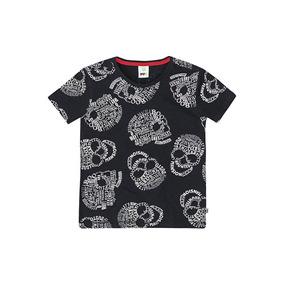a8c957a2753 Camiseta De Malha Preta Com Tamanho 16 - Camisetas Manga Curta no ...