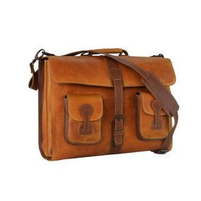 Portafolio Ag Leather Indiana Ocre 100% Piel