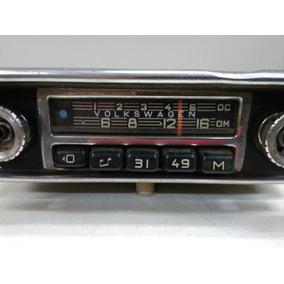 Auto Radio Wolkvagen Antigo Fusca Puma Kombi Brasilia 1960