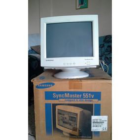 Monitor Samsung 15 Pulg Syncmaster 551v Blanco (operativo)
