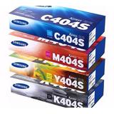 Combo Toner Samsung Juego Completo 404s Original C430w C480w