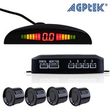 Agptek Car Reverse Backup Radar Vehicle Parking Sensors 4 Se