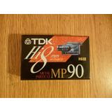 Cassette Tdk Hi8mm Mp90 Sin Uso Origen: Japon