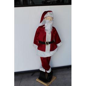 Disfraz Santa Claus Infantil, Excelente Calidad, Envío Grati