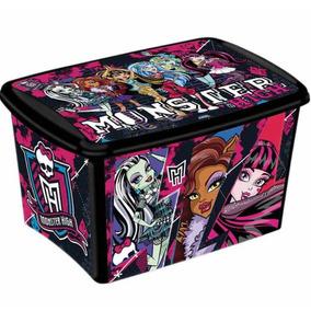 Caixa Organizadora Decora Monster High 46 Litros Plasutil