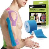 3 Unid Fita Kinesio Tape Bandagem Funcional Elástica Adesiva
