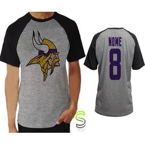 f788e7421b Camisa Nfl Minnesota Vikings - Camisetas e Blusas no Mercado Livre ...