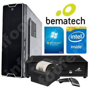 Cpu Computador Pc Automação Pdv + Kit Completo Bematech