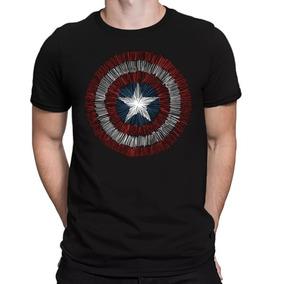 Camiseta Capitão América - Camisetas Manga Curta Masculino no ... b7e4853eaae