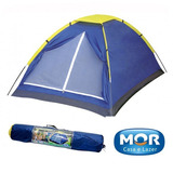 Barraca Camping Iglu 3 Pessoas Acampamento Praia + Bolsa Mor