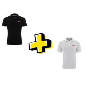 Kit 2 Camisas Polo Everlast El20182 - Preto - Branco