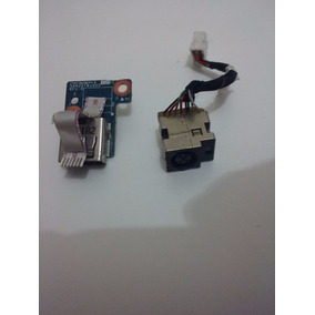 Conector Dc Power Jack Hp Pavilion G4, Original Perfeito