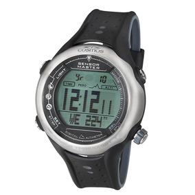 Relógio Masculino Digital Monitor Cardíaco Cosmos Os41413s