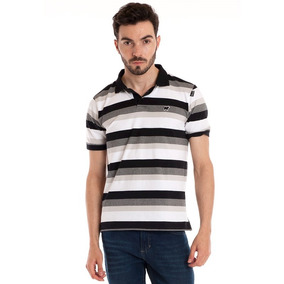 Camisa Polo Manga Curta G Highstil Listrada Nova - Calçados 03301bd59fa0b