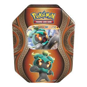 Jogo Pokémon - Deck Lata Pokémon Gx - Marshadow - Copag