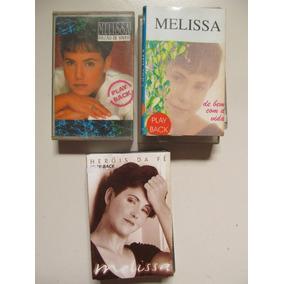 Cd Melissa - Combo 03 K7s Play-backs