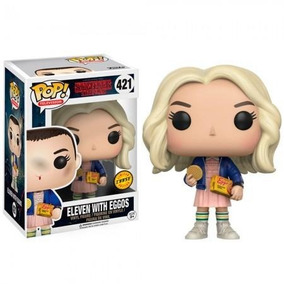 Boneco Funko Pop Chase Stranger Things Eleven With Eggos 421