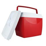 Caixa Térmica Cooler 26 Litros Bebidas Praia Copos - Mor