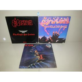 Lp Vinil - Saxon The Eagle Power E Icon Heavy Metal - Lote