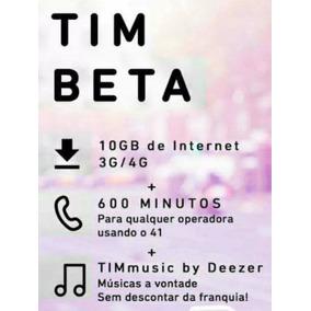 Convite Chip Tim Beta Lab 10gb 600m
