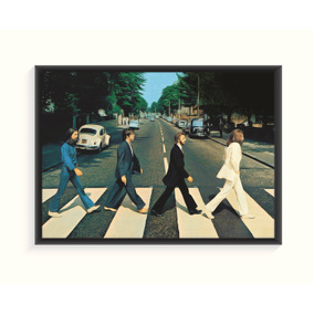 Pôster The Beatles Abbey Road 50x40