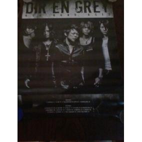 Dir En Grey Age Quod Agis Poster Doble Tour 2011!!