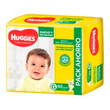 Pañales Huggies Classic Triple Proteccion Pack Ahorro