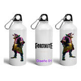 Botella De Aluminio Fortnite Battle Royale