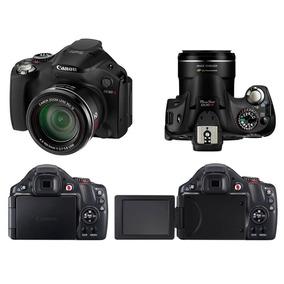 Câmera Canon Power Shot Sx40 Hs Estado De Novo + Cartão 4gb.