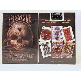 Baralho Bicycle Alchemy Ll Gothic England Standard Poker