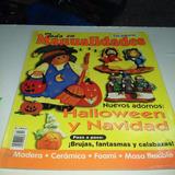 Revista Todo En Manualidades Con Patrones Halloween Navidad