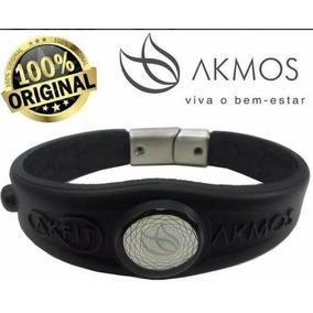 Pulseira Akmos Magnetica I9 Fitness 100% Orig + Frete Grátis
