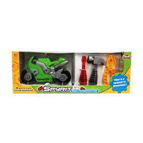 Juguete Para Niños Moto Con Herramientas Spyrit Usual Brinqu