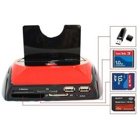 Hub Gaveta Portas Usb Leitor Cartão Micro Sd Hd Universal