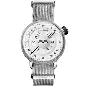 Bomberg Bb-01 White & Silver 43mm Ct4302.2 Diego Vez